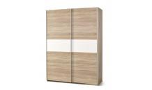 Šatní skříň LIMA S 1 dub sonoma/bílá