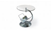 Konferenční stolek ALMA sklo čiré