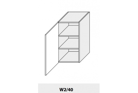 Horní skříňka kuchyně Quantum W2 40/jersey