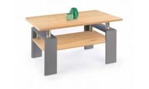 Konferenční stolek DIANA H MDF dub zlatý/grafit