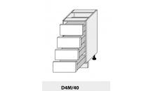 Dolní skříňka PLATINIUM D4M/40 jersey