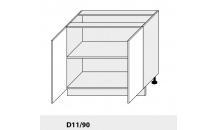 Dolní skříňka PLATINIUM D11/90 bílá