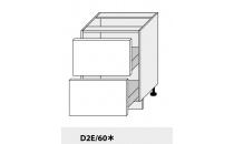 Dolní skříňka kuchyně Quantum D2E 60/grey