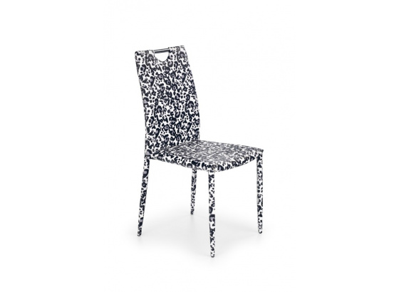 Jídelní židle K200 černá/bílá