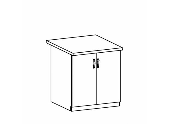 Dolní skříňka kuchyně ROYAL D80