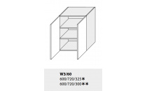 Horní skříňka kuchyně TITANIUM W3 60/grey