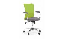 Dětská židle ANDY šedá/limetková
