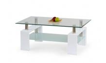 Konferenční stolek  DIANA H bílý lak