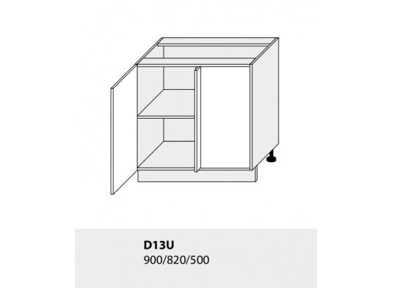 Dolní skříňka kuchyně TITANIUM D13U grey