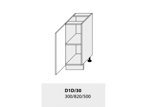 Dolní skříňka kuchyně GOLD LUX D1D 30
