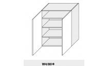 Horní skříňka PLATINIUM W4 80 grey