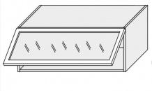 Horní skříňka EMPORIUM W4bs 90 ALU bílá