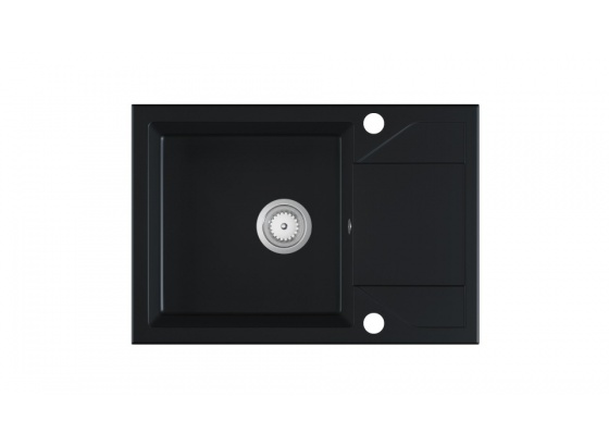 Kuchyňský dřez ADRIA granit černý