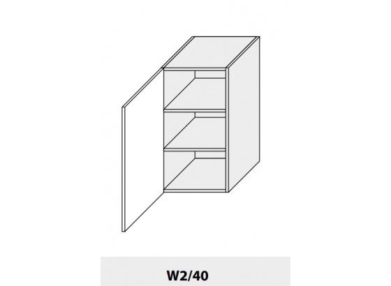 Horní skříňka PLATINIUM W2/40 grey