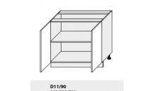 Dolní skříňka PLATINIUM D11/90 grey