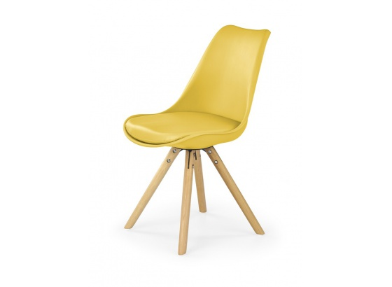 Jídelní židle K 201 žlutá