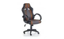 Kancelářské křeslo    RADIX   šedá / oranžová