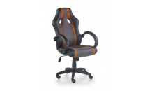 Kancelářské křeslo RADIX šedá/oranžová