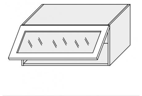 Horní skříňka kuchyně Quantum W4BS 80 WKF/jersey