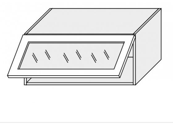 Horní skříňka kuchyně Quantum W4BS 80 WKF jersey