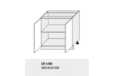 Dolní skříňka kuchyně GOLD LUX D11 80