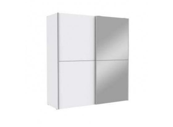 Šatní skříň WHITE KISS 170 bílá