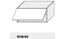 Horní skříňka PLATINIUM W4B/80 bílá
