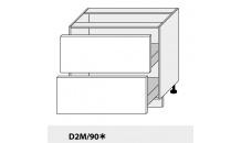 Dolní skříňka kuchyně Quantum D2M 90/grey