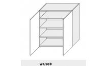 Horní skříňka kuchyně Quantum W4 90/grey