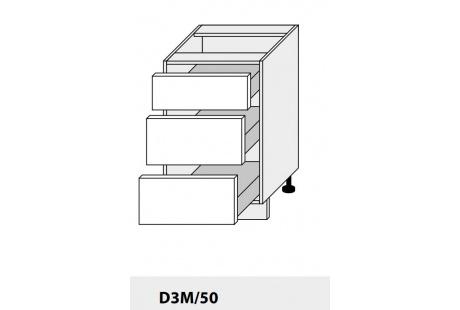 Dolní skříňka kuchyně Quantum D3M 50/grey