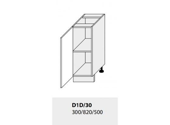 Dolní skříňka kuchyně TITANIUM D1D 30 jersey