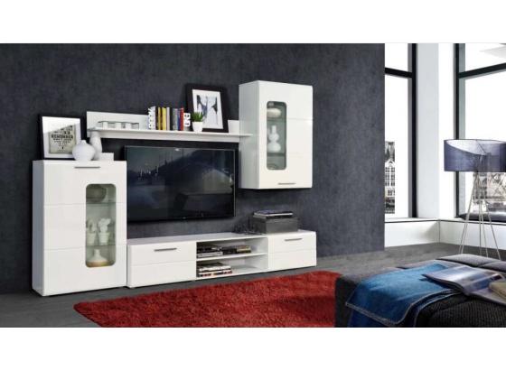 Obývací stěna ZARKO ZRKM01 bílá