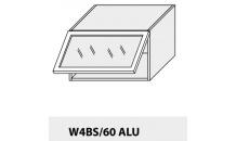 Horní skříňka kuchyně TITANIUM W4BS 60 ALU grey