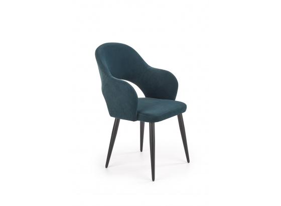 Jídelní židle K364 tmavě zelená