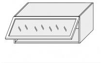 Horní skříňka kuchyně TITANIUM W4BS 90 MDF/grey