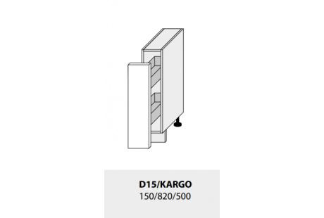 Dolní skříňka kuchyně GOLD LUX D/15 Kargo