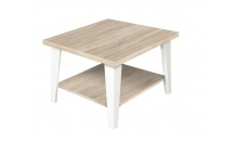 Konferenční stolek FLEXI 65 dub somoma/bílá