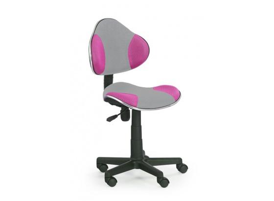 Dětská židle FLASH 2 růžovo-šedá