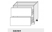 Dolní skříňka kuchyně Quantum D2E 90/grey