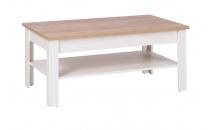 Konferenční stolek BERG 16 krém/dub zlatý