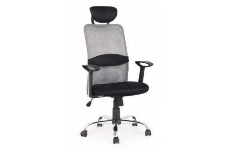 Kancelářské křeslo DANCAN černá / šedá