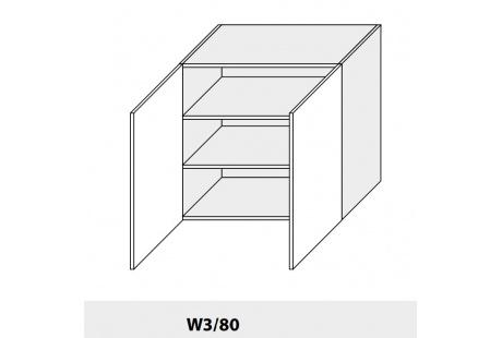 Horní skříňka kuchyně QUANTUM W3 80/grey