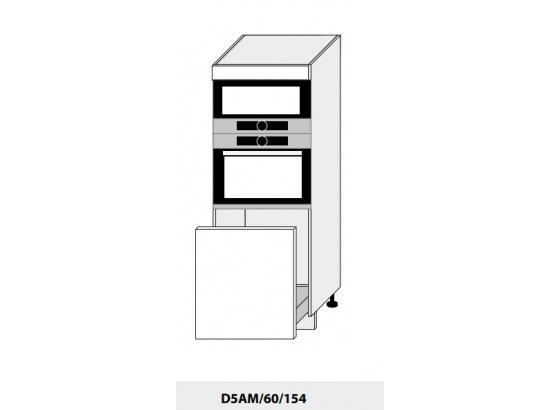 Skříň pro vestavbu PLATINIUM D5AM/60/154 bílá