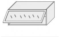 Horní skříňka PLATINIUM W4BS 90 MDF grey