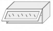 Horní skříňka EMPORIUM W4bs 90 WKF sklo bílá