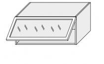 Horní skříňka kuchyně TITANIUM W4BS 80 MDF/grey