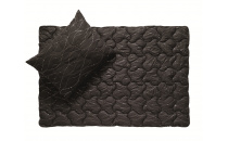 Polštář Metalic 90x70 cm černý