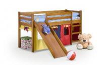 Dětská patrová postel NEO PLUS  borovice