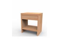 Noční stolek LUCIA ZP masiv buk cink