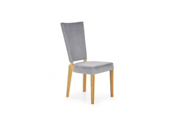 Jídelní židle ROIS šedá/dub medový